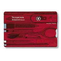 Набір SwissCard Lite червоний Victorinox