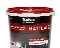 Краска интерьерная стойкая к мытью Acryl Super MATTLATEX 7,0кг Ролакс