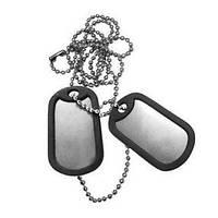 Жетони військові з гумками США Mil-Tec