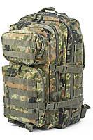 Камуфляжный рюкзак для спецподразделений / Рюкзак штурмовий великий флектарн Mil-Tec