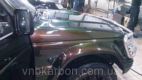 Пленка глянцевая зеленый Хамелеон