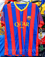 Футбольная форма на короткий рукавах известных клубов мира