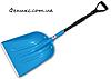 Лопата пластиковая с металлическим черенком