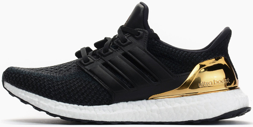 "db4fa9bce5f Мужские Кроссовки Adidas Ultra Boost ""Gold Medal"" Black — в ..."