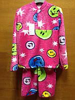 Пижамы подростковые махровые Смайл