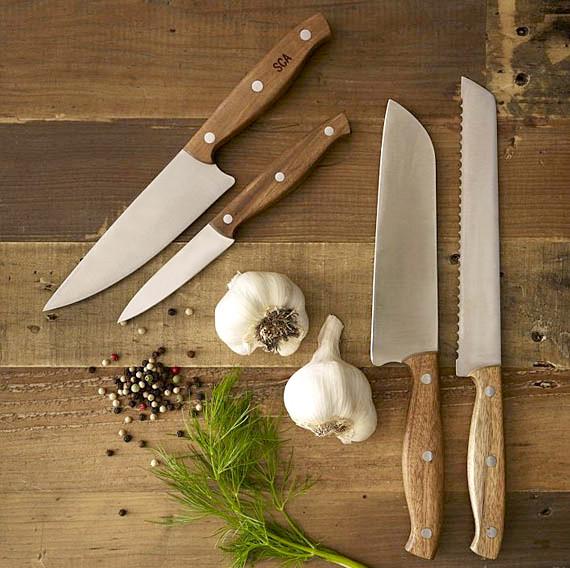 Ножи кухонные, ножницы, подставки