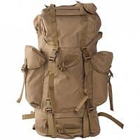 Рюкзак туристический и военный рейдовый / Рюкзак 65 літрів койот Mil-Tec
