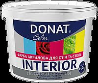 Интерьерные водоэмульсионные краски Донат