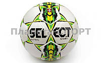 Мяч для футзала №4 Клееный-PU ST FB-4765-W SAMBA (белый), фото 1