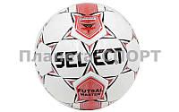 Мяч для футзала №4 ламин. ST MASTER ST-27 белый-черный-красный (5 сл., сшит вручную), фото 1