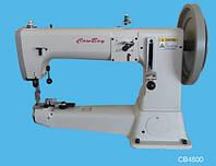 4500 Рукавная машина c тройным продвижением для тяжёлых материалов, применяется для пошива технического тексти