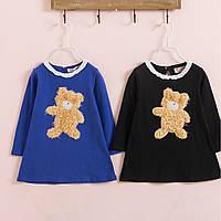 Платье для девочек c мишками