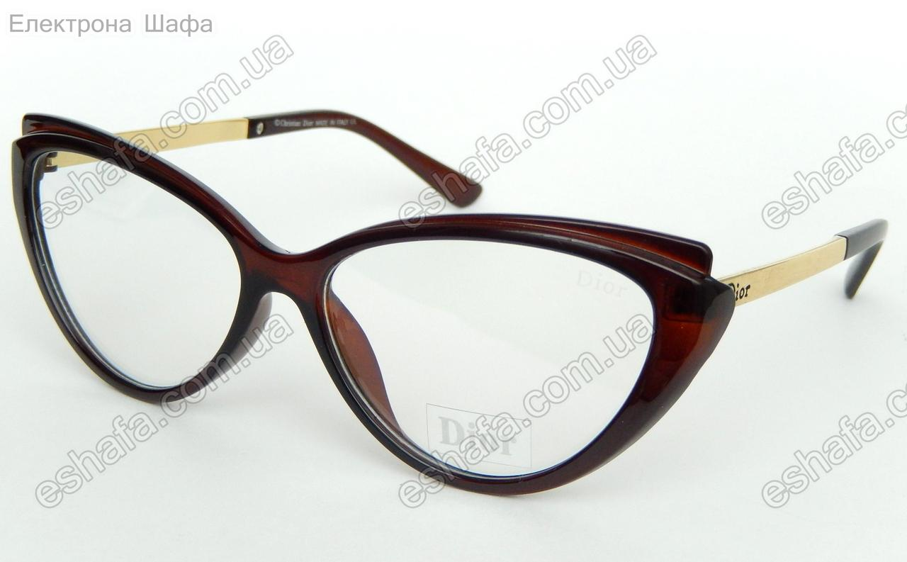 c8d8e1cd0eac Женские прозрачные очки лисички в стиле DIOR - Eshafa - Електрона Шафа в  Киеве