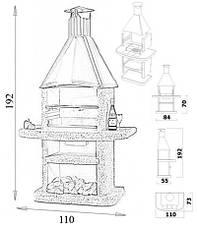 Барбекю NORMAN ( Чехия )  Avanta (медный купол дымосборника), фото 3