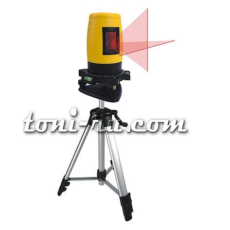 Уровень лазерный самонастраивающийся, кейс,тренога, фото 2