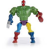 Фигурка-конструктор 16СМ Человек Паук - Spider Man, Super Hero Mashers, Marvel, Hasbro