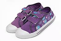 Кеды в цветочек Purple 17109