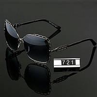 Женские стильные очки Hend Made квадратные серые