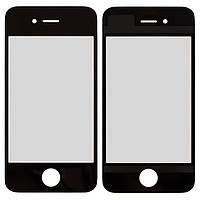 Скло Apple iPhone 4/4S (Чорне)