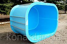 Купель из пластика для бань, фото 2