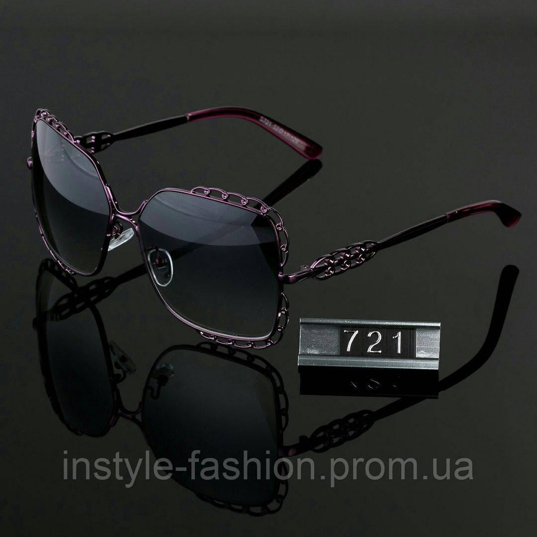 Женские стильные очки Hend Made квадратные сиреневые - Сумки брендовые,  кошельки, очки, женская 3cf1ef110ea