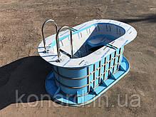 Купель из пластика для бань, фото 3