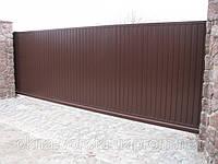 Въездные откатные ворота 4000х2000мм