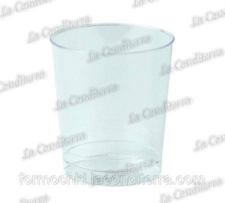 Пластиковый прозрачный стакан «Tubito» 415 (150 мл)