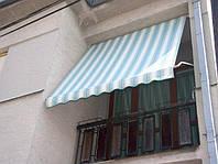 Маркіза Віконна Italia, тканина - Sattler (Австрія), комплектація Gaviota Simbac (Італія)