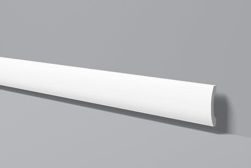Напольный плинтус из высокоплотного полимера HDPS FD3 100*20 мм 2 м