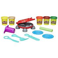 Игровой набор Hasbro Play-Doh Бургер гриль (B5521)