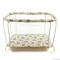 """Детский манеж Kinder Box """"Совы"""" для детей 6 мес - 3 года. Гарантия безопасности!"""