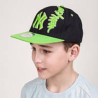 Модная реперская кепка для мальчика - New York - Б10, фото 1