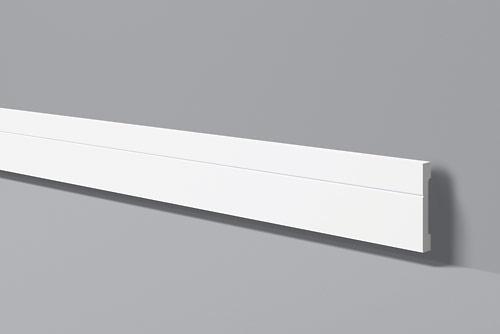 Напольный плинтус из высокоплотного полимера HDPS FD2 100*15 мм 2 м
