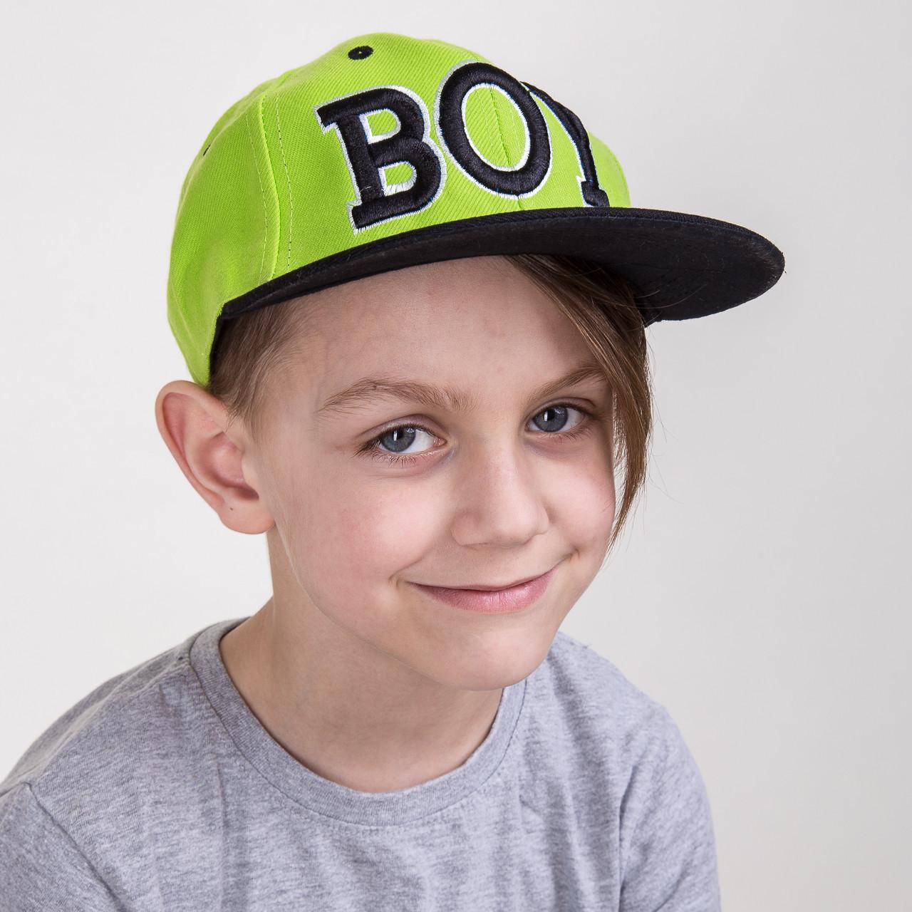 Кепка Snapback для мальчика от производителя - BOY - Б15