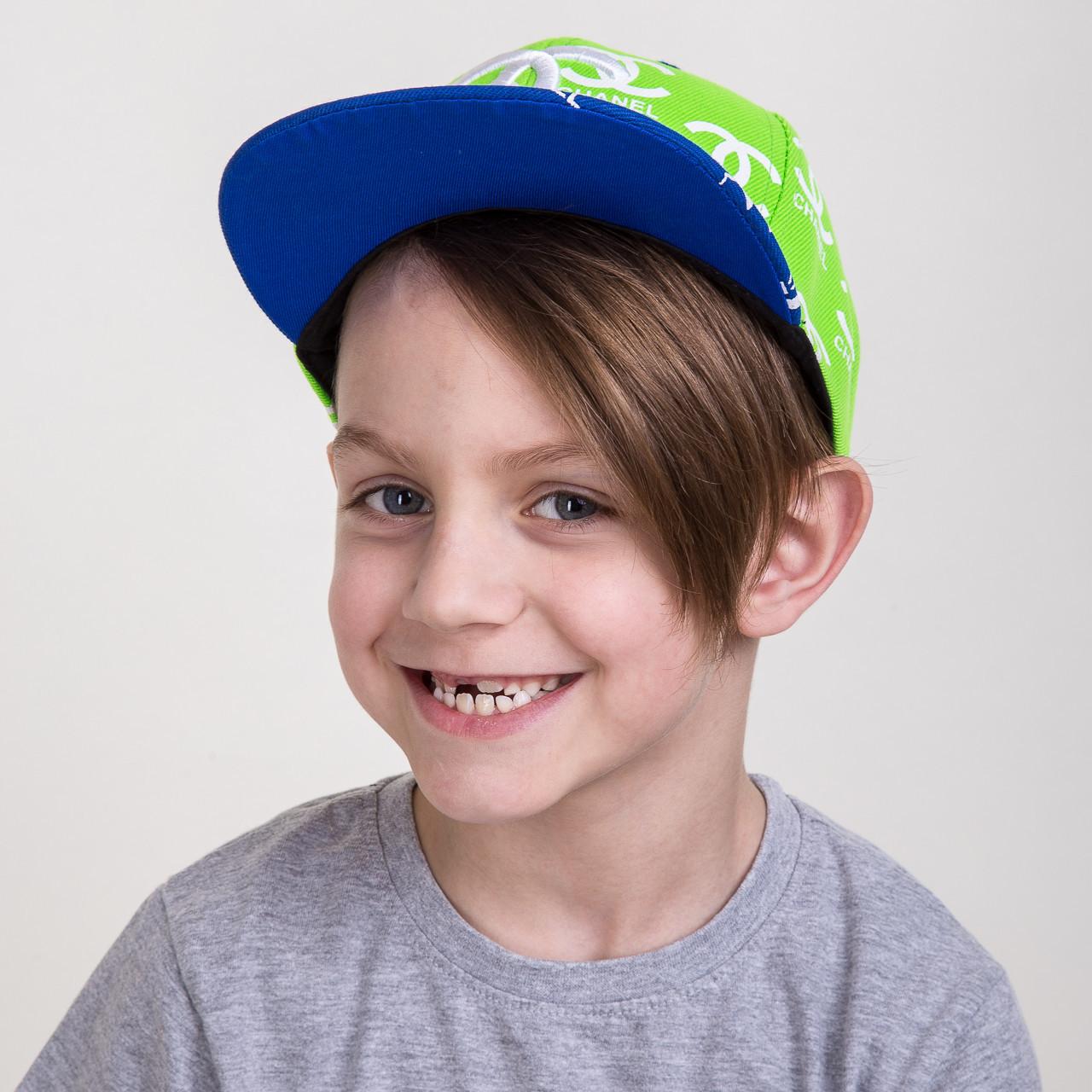 Кепка реперская Snapback для мальчика - CHANEL - Б19 1