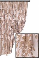 Ткань портьерная Гобелен Роза V3 Турция