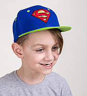Модная реперская кепка для мальчика Snapback от производителя - Supermen - Б08с 3