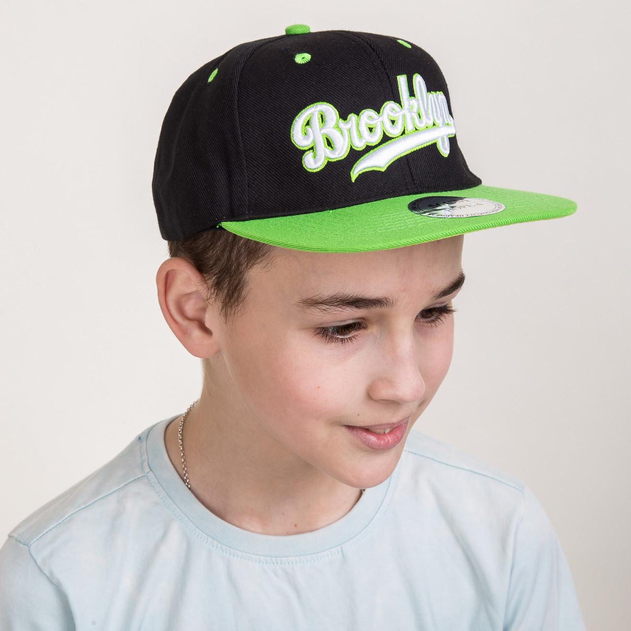 Кепка для мальчика Snapback от производителя - Brooklyn - Б09a 1