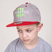 Реперская кепка Snapback для мальчика от производителя - Monster - Б12а