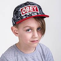 Кепка реперская для мальчика от производителя - OBEY - Б23а