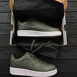 Кроссовки женские Nike Air Force Lab 1 Low 30414 зеленые, фото 4