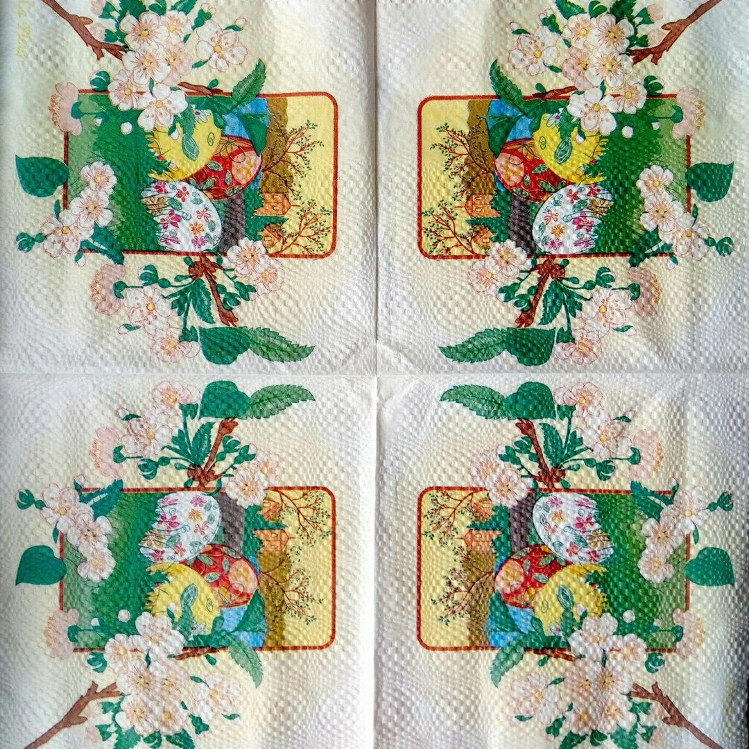 Салфетка декупажная 33x33 см 11 Весна праздник - магазин-студия Цацки в Чернигове