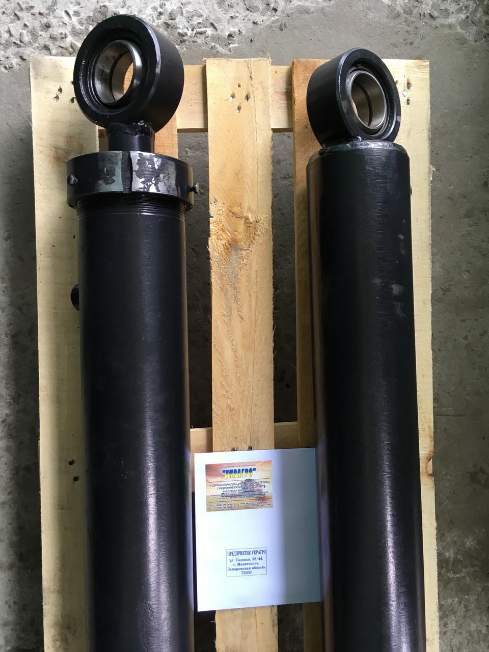 Гидроцилиндр подъема ковша погрузчика Т-156Б (ГЦ 125.63х710.11)