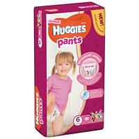 Подгузники-трусики Huggies Pants для девочек 6 (15-25кг) 36 шт.