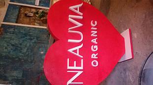 Сердце из пенопласта для презентаций продукта компании NEAUVIA 19