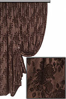 Ткань портьерная Гобелен Роза V43 Турция