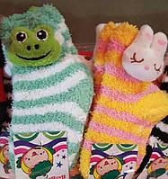 Детские махровые носочки мордочки