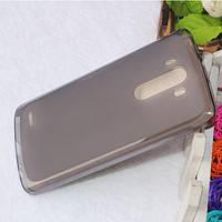 Cиликоновый чехол Matte LG G3/D855 черный, фото 2
