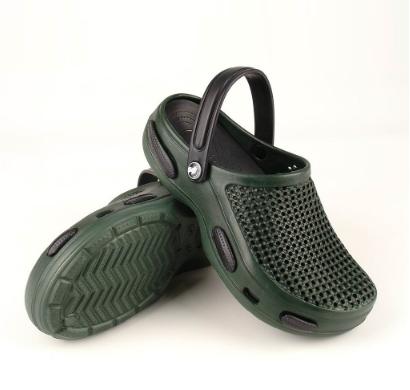 Мужские сабо зелено-черные (Код: Муж Сабо JA)